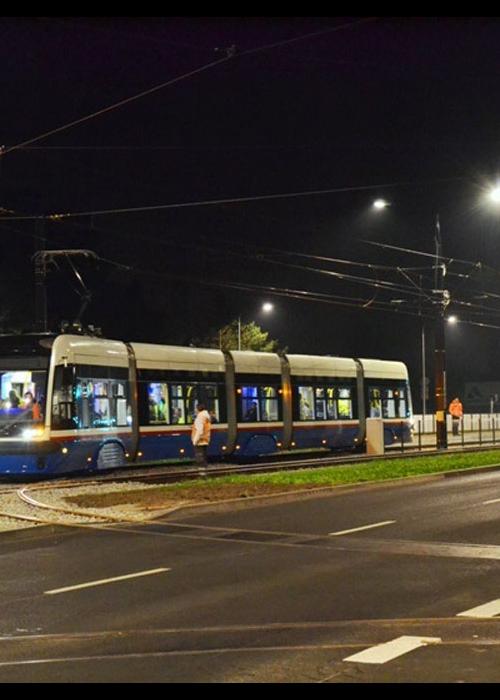 Bydgoszcz. Tramwaje testują estakadę i torowisko